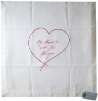 Tracey Emin, MY HEART IS WITH YOU ALWAYS (SIGNED), 2015