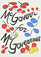 Alexander Calder, McGovern for McGovernment, 1972
