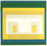 Josef Albers, Variant II from Ten Variants (Gift of Josef Albers to German abstract painter Adolf Fleischmann), 1966
