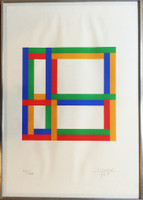 Max Bill, Untitled 1960s Geometric Abstraction, 1968