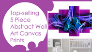 #3 Top 2018 Best Abstract 5 Piece Wall Art Canvas Prints Video