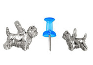 Cairn Terrier Charm - Mini B