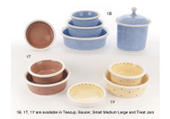 Petware Pottery Dog Bowls 1 Series