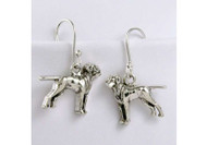 Sterling Silver Vizsla Earrings