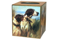 Pointers Decoupage Tissue Box