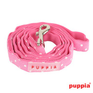 Puppia Dotty Lead Pink