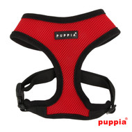 Puppia Soft Harness Red