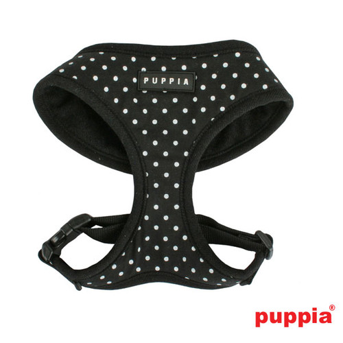 Puppia Dotty Harness Black