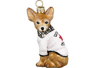 "Chihuahua ""Rock Star"" Christmas Ornament"