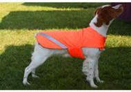 Hunter Orange Dog Coat - Fleece Lining