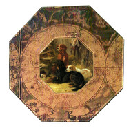 Gordon, English and Irish Setter Decoupage Plate