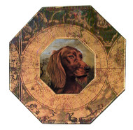 Irish Setter (Face) Decoupage Plate