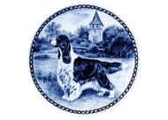 Springer Spaniel (English) Danish Blue Plate (# 2)