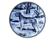 Scottish Deerhound Danish Blue Plate (# 2)