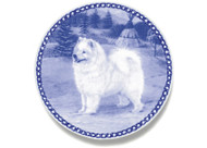Samoyed Danish Blue Plate (# 2)