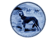 Saluki Danish Blue Plate (# 2)