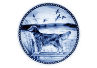 Nova Scotia Duck Tolling Retriever Danish Blue Plate (# 2)
