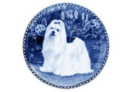 Maltese Danish Blue Plate