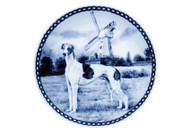 Greyhound Blue Plate (# 2)