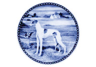 Greyhound Blue Plate