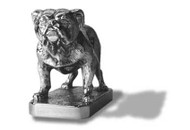 English Bulldog Hood Ornament