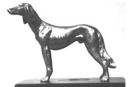 Saluki Hood Ornament