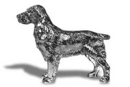 Cocker Spaniel Hood Ornament (B)
