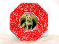 Yorkie Puppy Glass Christmas Ornament By Joy To The World