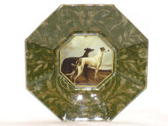 Greyhound Decoupage Plate