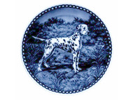 Dalmatian Danish Blue Dog Plate