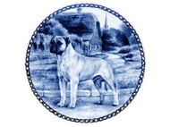 Bull Mastiff Danish Blue Plate
