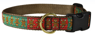 Gingerbread Man Dog Collar and Leash (B)