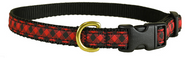 Buffalo Plaid Dog Collar and Leash