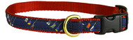 Crew Blades Dog Collar and Leash