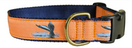 Whale Tail Dog Collar and Leash
