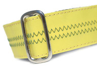 Sailcloth Dog Collar in Salty Dog Yellow