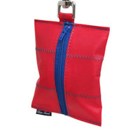 Dog Waste Bag Dispenser in Sailcloth Salty Port