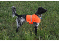 Hunter Orange Dog Vest
