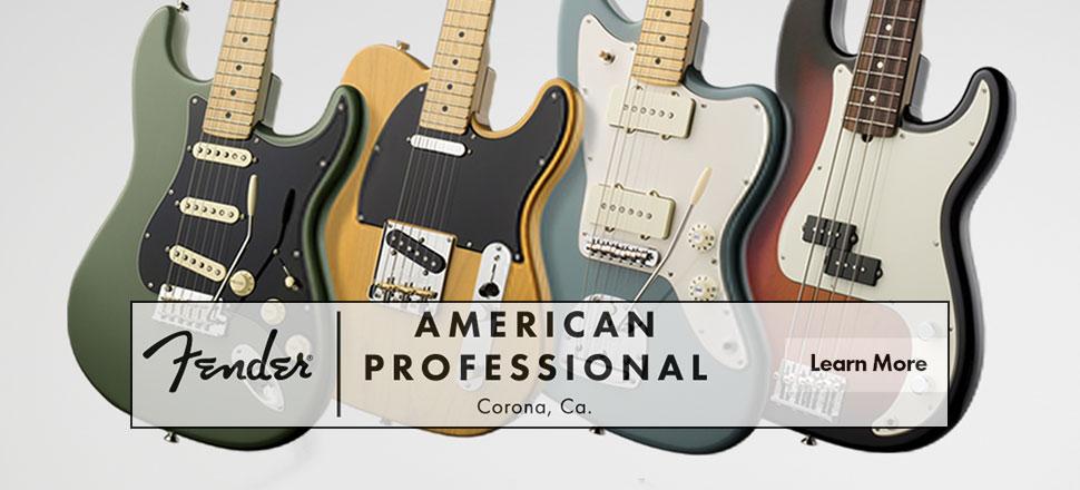 Fender American Professional Guitars