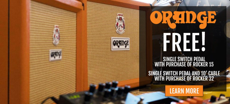ORANGE AMPLIFIERS FREE FOOTSWITCH