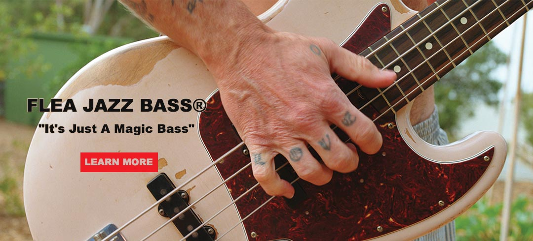 FLEA JAZZ BASS FENDER
