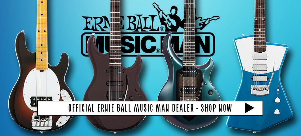 ERNIE BALL MUSIC MAN DEALER