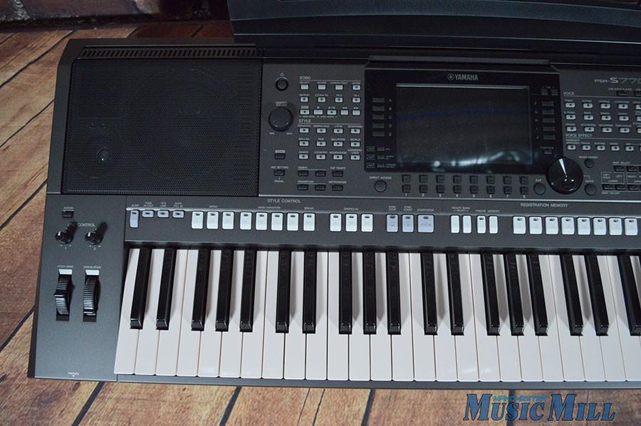 yamaha psr s770 61 key arranger keyboard
