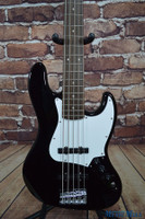 Squier Affinity Jazz Bass V 5 String Black