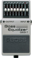 BOSS GEB-7 Bass Equalizer Pedal