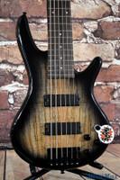 Ibanez GSR206 6 String Bass Guitar Natural Gray Burst