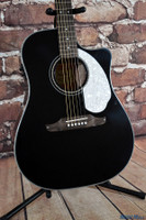 Fender Sonoran SCE Acoustic Electric Guitar Black