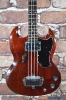 Vintage 1968 Gibson EB-0 Bass Guitar Cherry