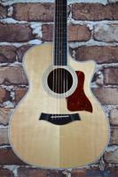 Taylor 414ce-R Grand Auditorium Acoustic Electric Guitar Natural