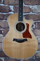 Taylor 414ce Grand Auditorium Acoustic Electric Guitar Natural